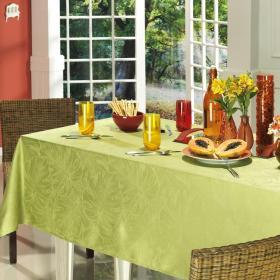 Toalha de Mesa F�cil de Limpar Quadrada 4 Lugares 160x160cm - Beverly Verde - Dui Design