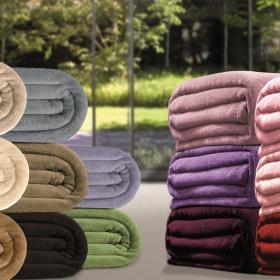 Cobertor Avulso Solteiro em Microfibra Soft Touch 300 g/m� - Blanket - Kacyumara