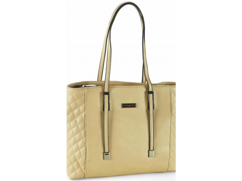 Bolsa De Ombro David Jones : Bolsa de ombro cannes camel david jones paris vida e cor