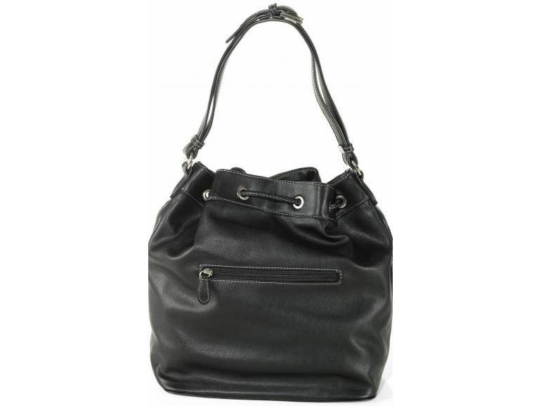 Bolsa De Ombro David Jones : Bolsa saco caprice preto david jones paris vida e cor