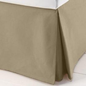 Saia para cama Box Casal - Granit� R�stico Caqui - Sultan