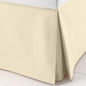 Saia para cama Box Casal - Granit� R�stico Natural-Marfim - Sultan