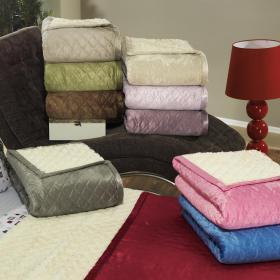 Cobertor Avulso Casal com efeito Pele de Carneiro - Himalaia Sherpa - Dui Design