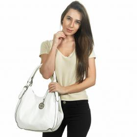 Bolsa  Casual - Lille Branco - David Jones Paris