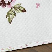 Kit: 1 Cobre-leito Queen + 2 porta-travesseiros Cetim de Algod�o 300 fios - Madeleine - Dui Design