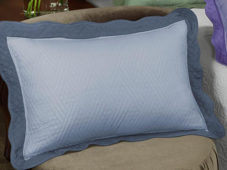 Porta-travesseiro Avulso de Microfibra UltraSonic - Match - Dui Design
