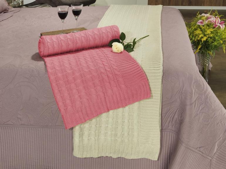 Manta de tricot de sof nimes dui design vida e cor - Cobertor para sofa ...