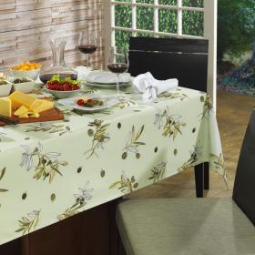 Toalha de Mesa Quadrada 4 lugares 140x140cm - Oliver - Dui Design