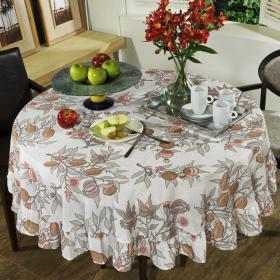 Toalha de Mesa Redonda 160cm - Roma - Dui Design