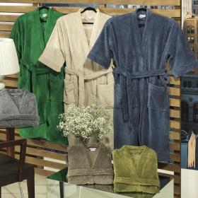 Roup�o Kimono Microfibra (G) - Domus - Dui Design