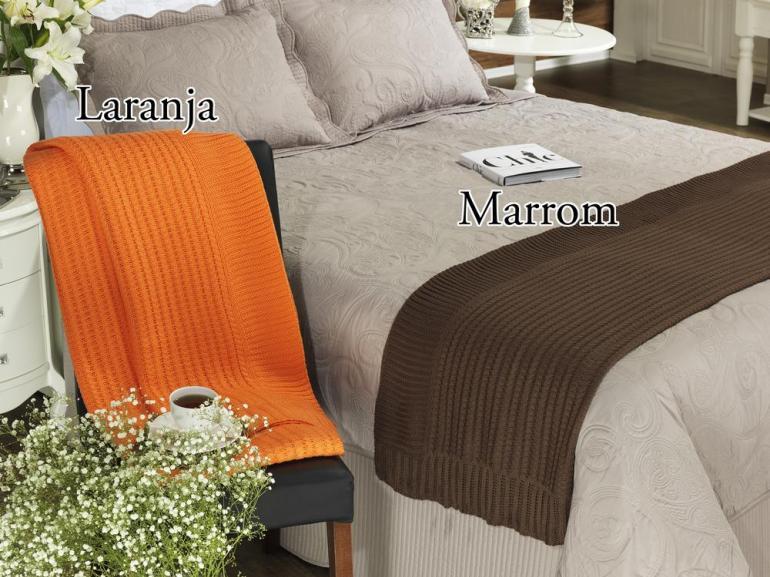 Manta de tricot casal sanremo dui design vida e cor - Ikea mantas para camas ...