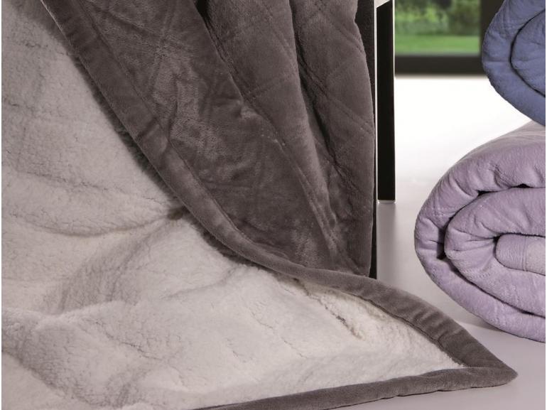 Cobertor avulso queen com efeito pele de carneiro sherpa for Cobertor cama