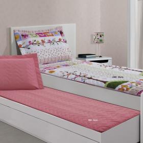 Colcha Sleep Solteiro para bicama ou beliches com Porta-travesseiro - Innovi - Kacyumara