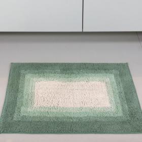 Tapete de algod�o com antiderrapante 1300g/m� - Degrade Retangular - Kacyumara