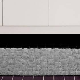 Tapete 50x70cm de algod�o com antiderrapante 1600g/m� - Sharp - Kacyumara