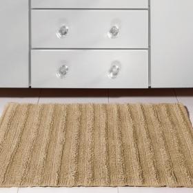 Tapete 50x70cm de algod�o com antiderrapante 1600g/m� - Stripe - Kacyumara