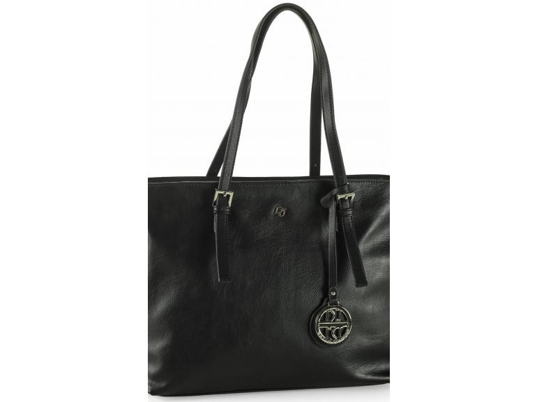 Bolsa De Ombro David Jones : Bolsa de ombro valentina preto david jones paris