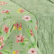 Jogo de Cama Solteiro Percal 180 fios 100% Algodão - Waikiki Herbal - Dui Design